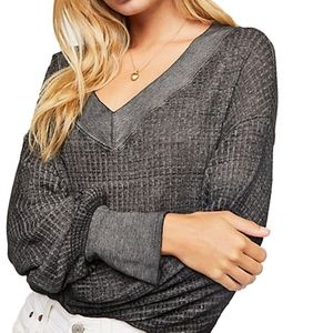 We The Free People Southside Thermal Top